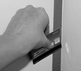 wallstickers kreditkort