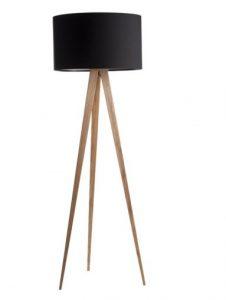 Tripod Wood Gulvlampe