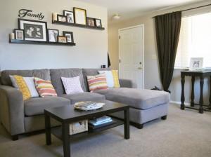 2 - sofa og puder