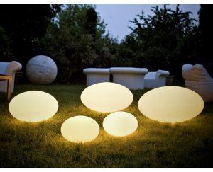 Udendørs Eggy Pop Lampe