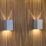Square væglampe