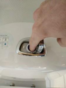 Toilet løber cisterne åbnes 3