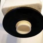 Toilet løber bundventil udløbspakning