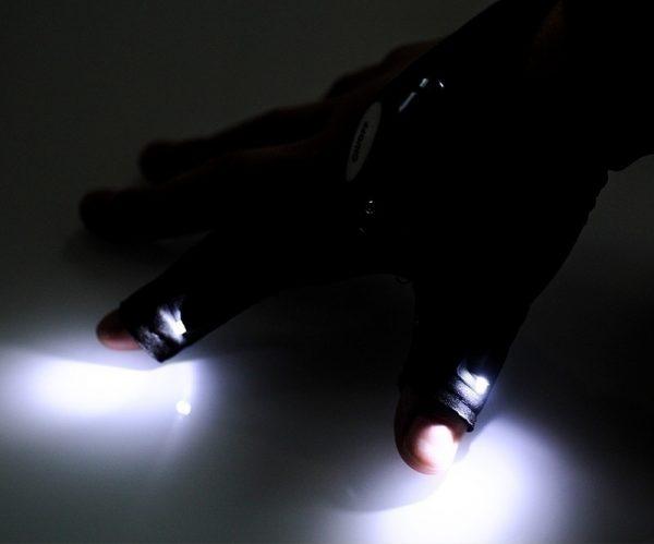 Handske med lys