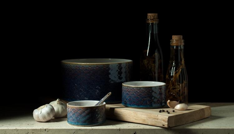 Smukke keramikskåle til bordet og boligen