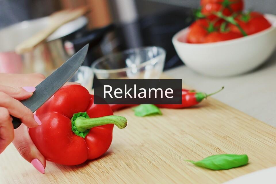 Gør madlavning til en fornøjelse med skarpe knive