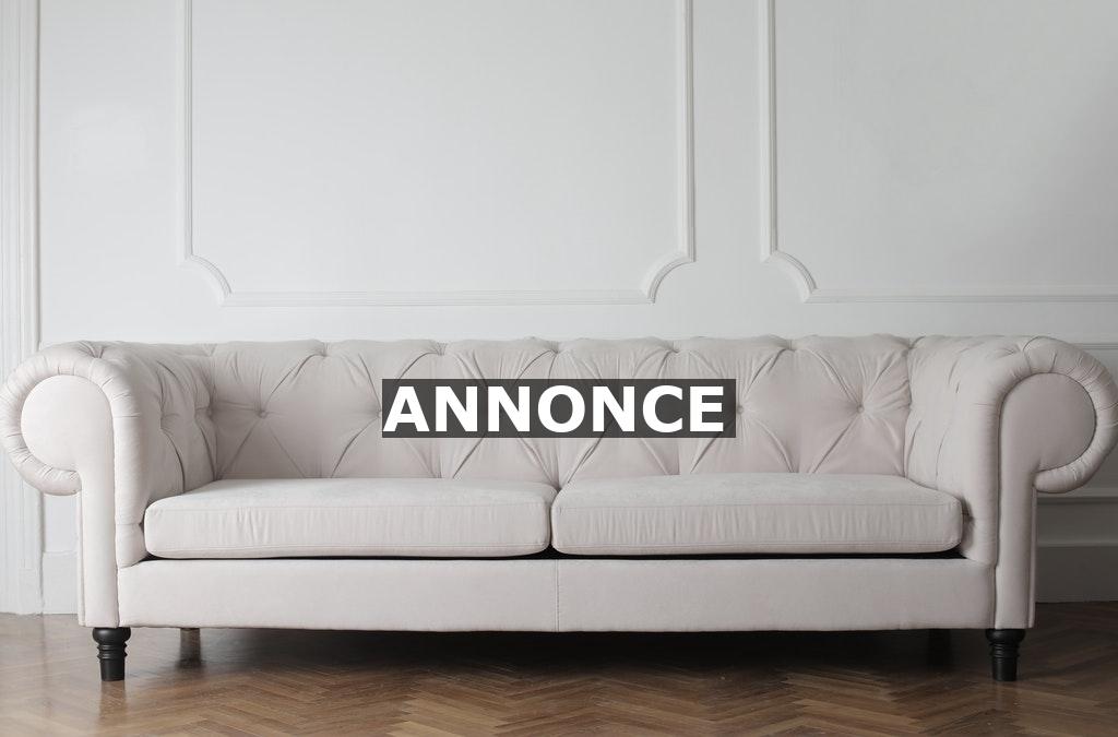 Din sofa bør ikke stå i kontrast til den øvrige indretning i stuen